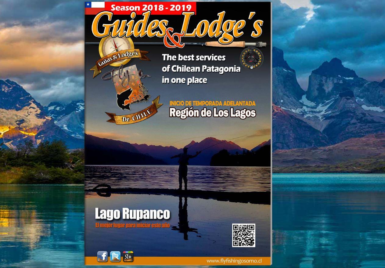 Lanzamiento oficial de la revista online Guias & Lodges para la temporada 2018-2019