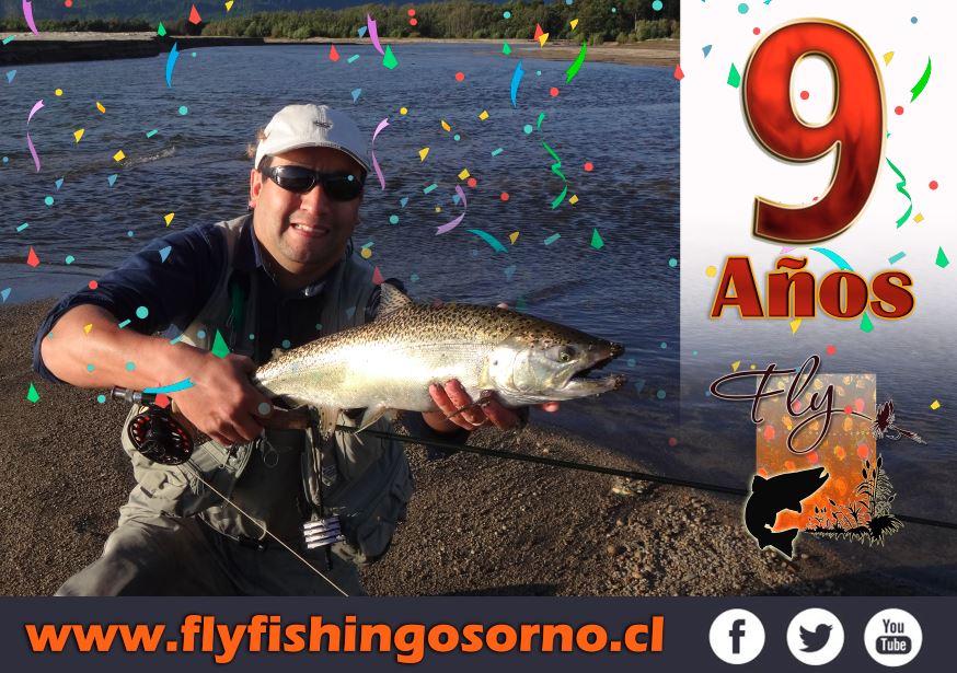 Fly Fishing Osorno Cumple 9 años como sitio de Pesca con Mosca en Chile